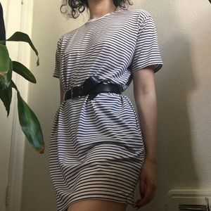 Dresses & Skirts - Striped T-Shirt Dress